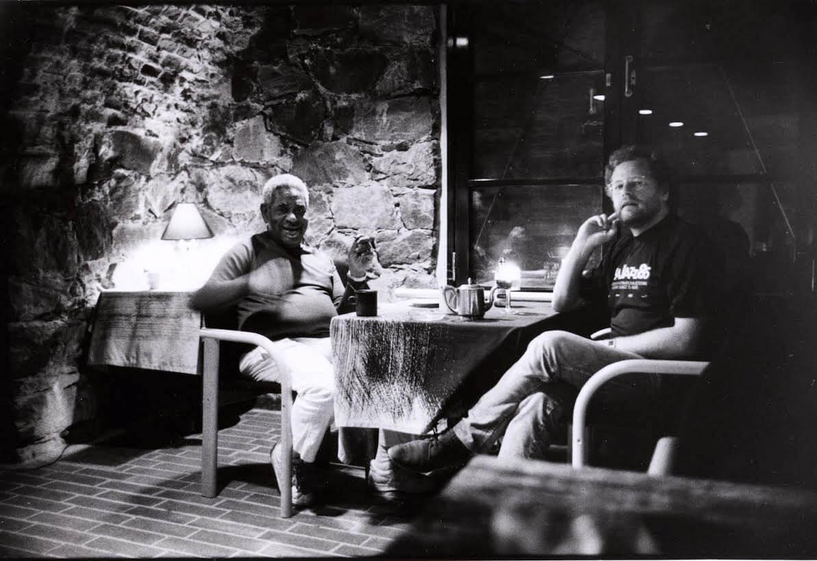 Eero Koivistoinen with Dizzy Gillespie